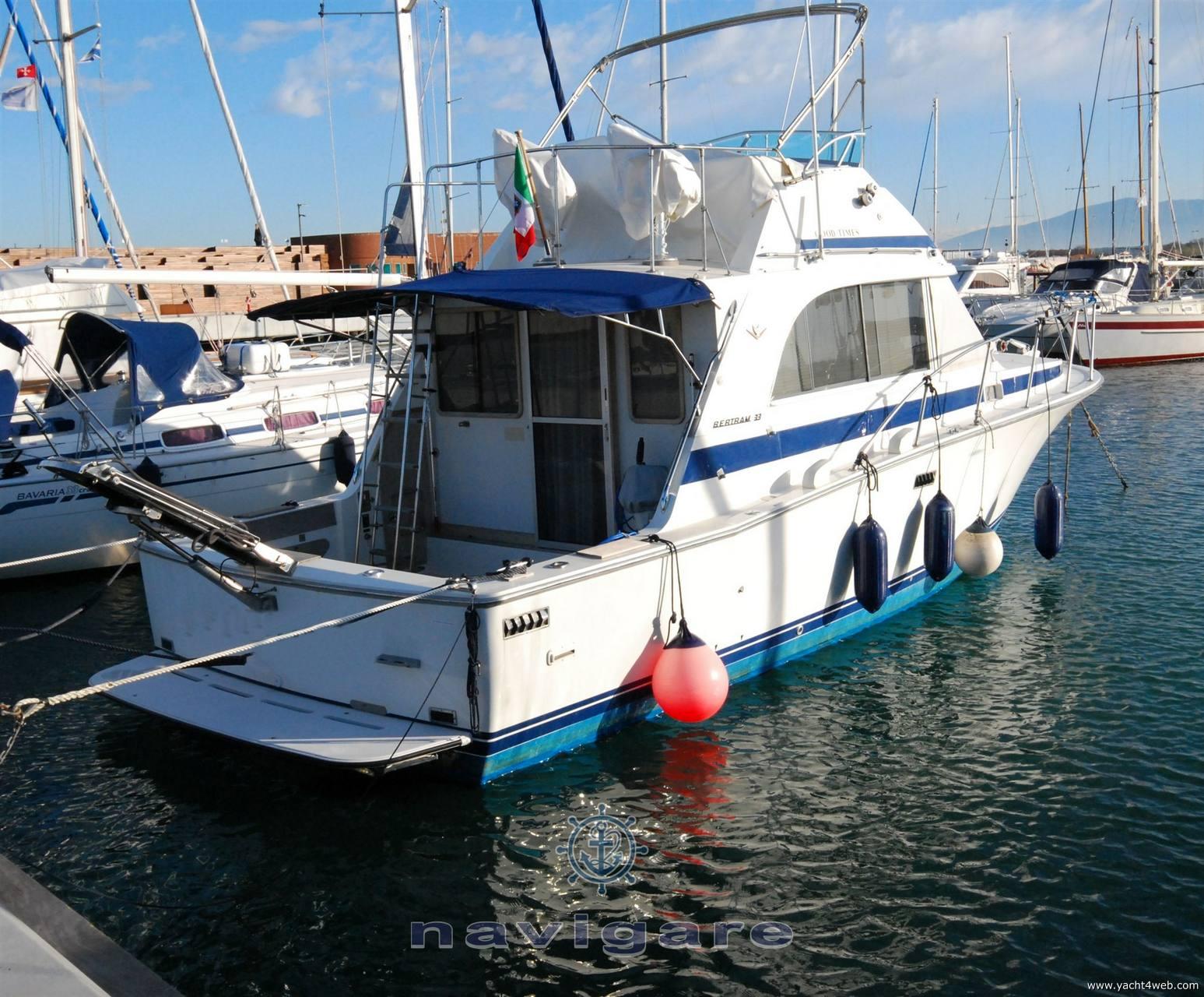 Bertram Yacht 33 fbc seconda serie