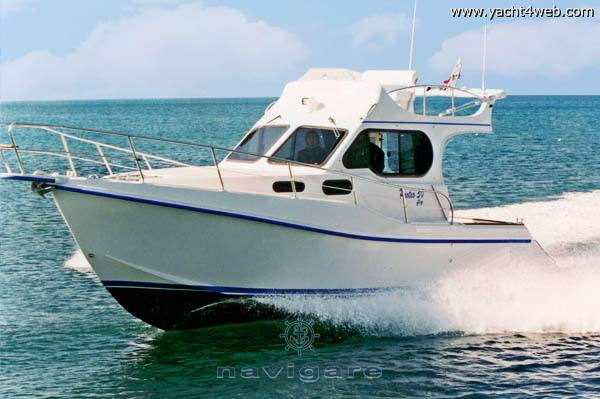 Ala Blu New proteo 30 fly Motor boat used for sale