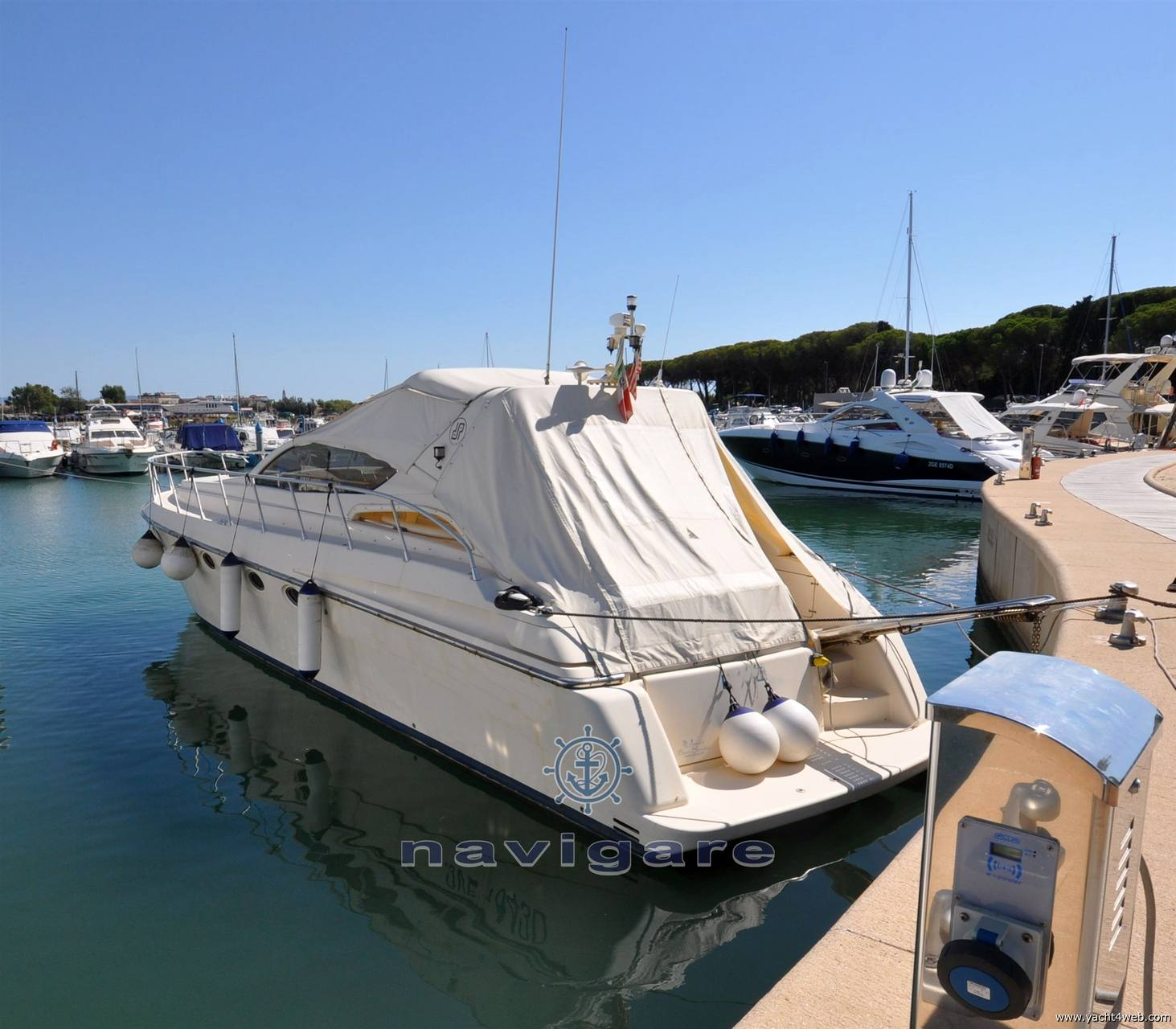 Dalla Pietà Dp 48' altair Barca a motore usata in vendita