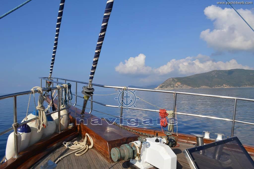 Sibel sultan Caicco turco Sail cruiser
