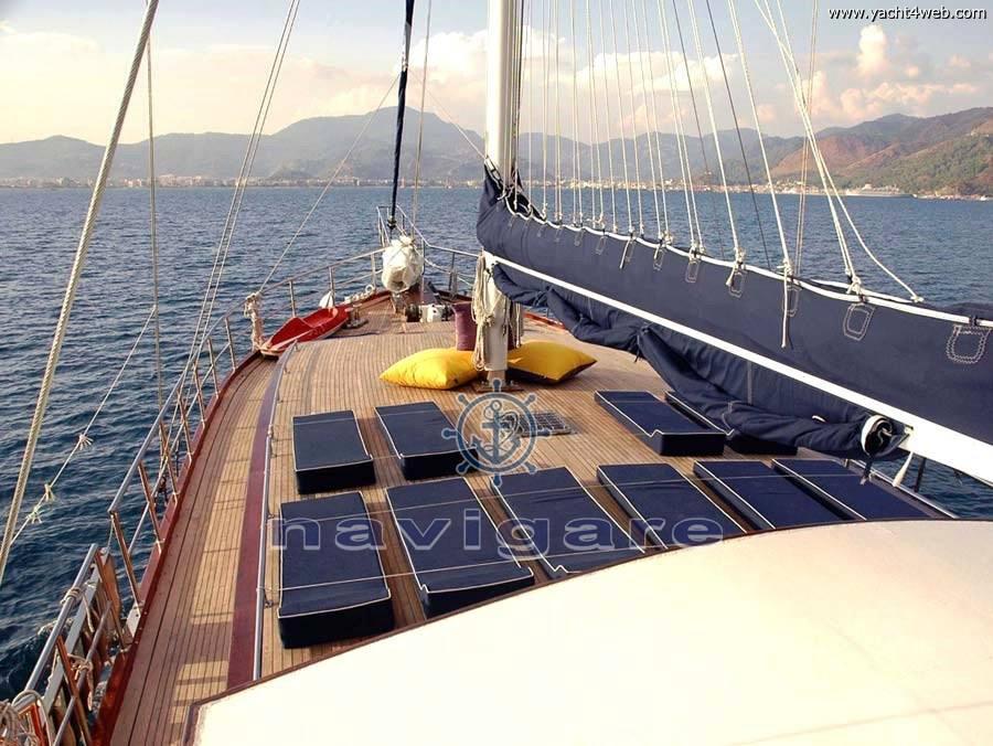 Sibel sultan Caicco turco sailing boat