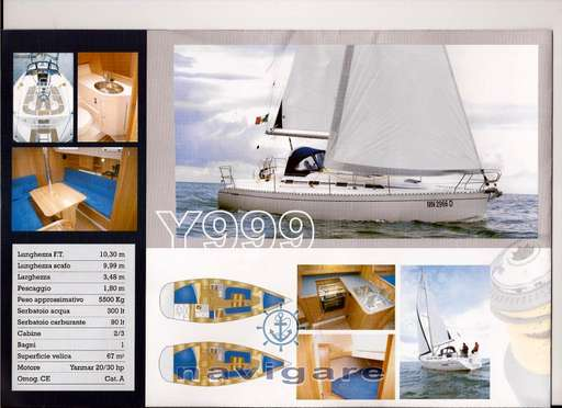 Ypsilon yachts triplast Ypsilon yachts triplast Y 999