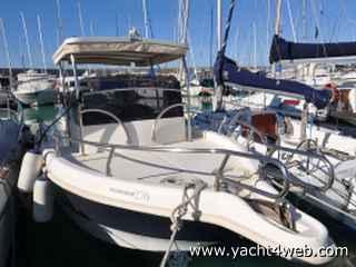 Motor boat italia Ocean blue 270