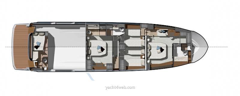 Prestige Yachts Prestige x 70 fotografia