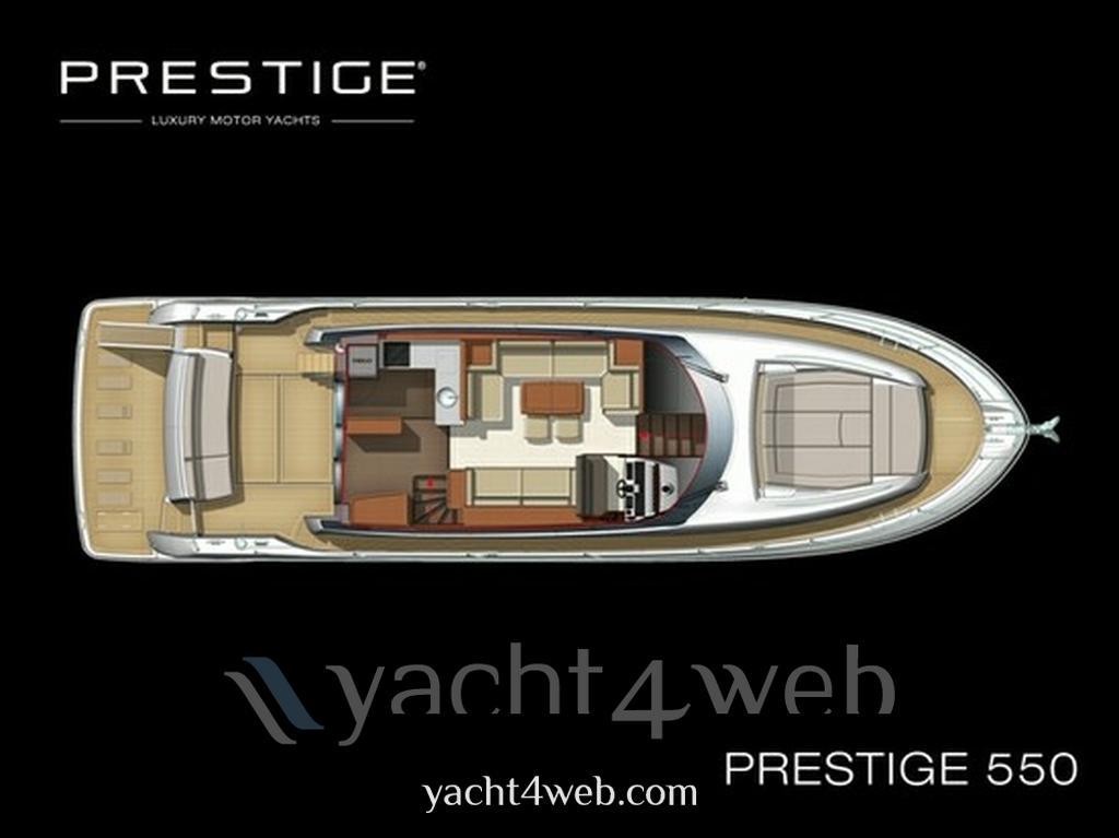 Prestige 550 fly Motor boat new for sale