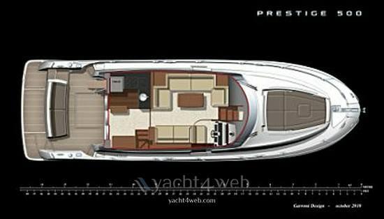 Prestige 500 fly Flybridge