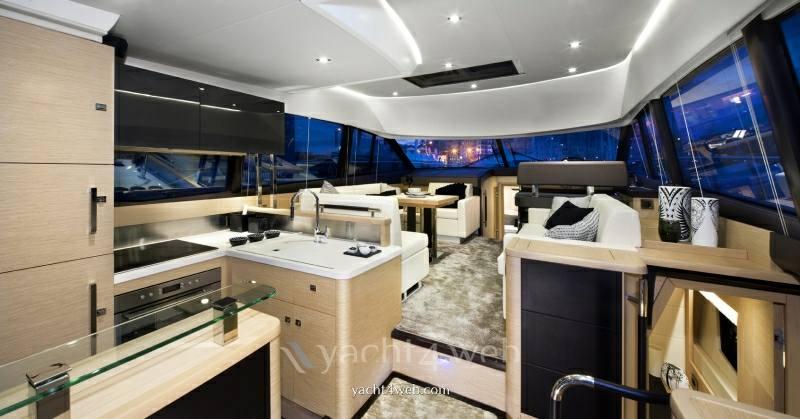 Prestige 500 fly Flybridge new