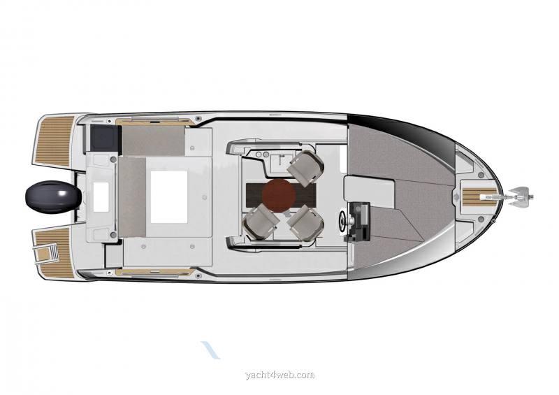 Jeanneau Merry fisher 795 marlin Pilotina