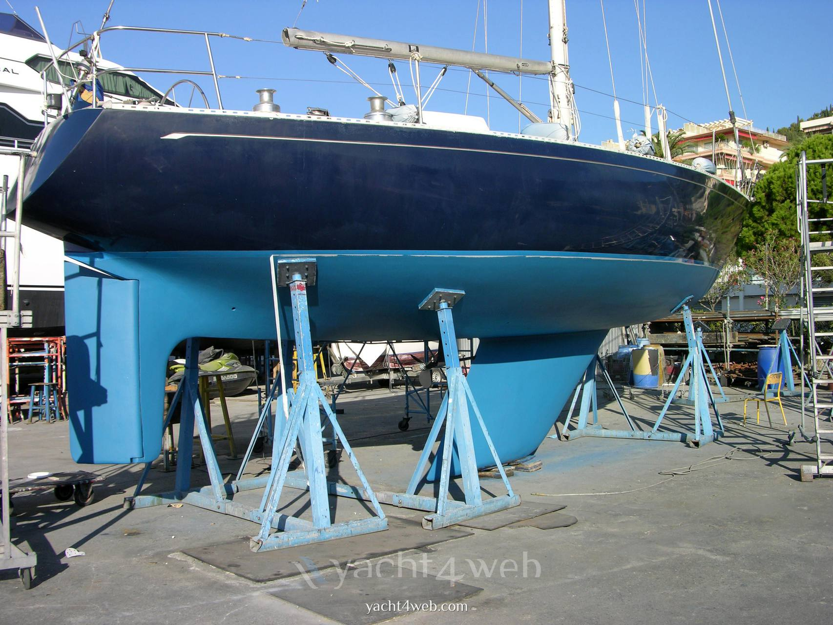 Olympic-yachts Carter 39 flush deck Sailing boat used for sale