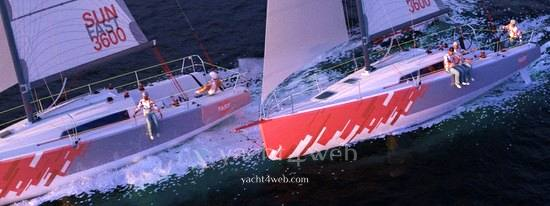 Jeanneau Sun fast 3600 sailing boat