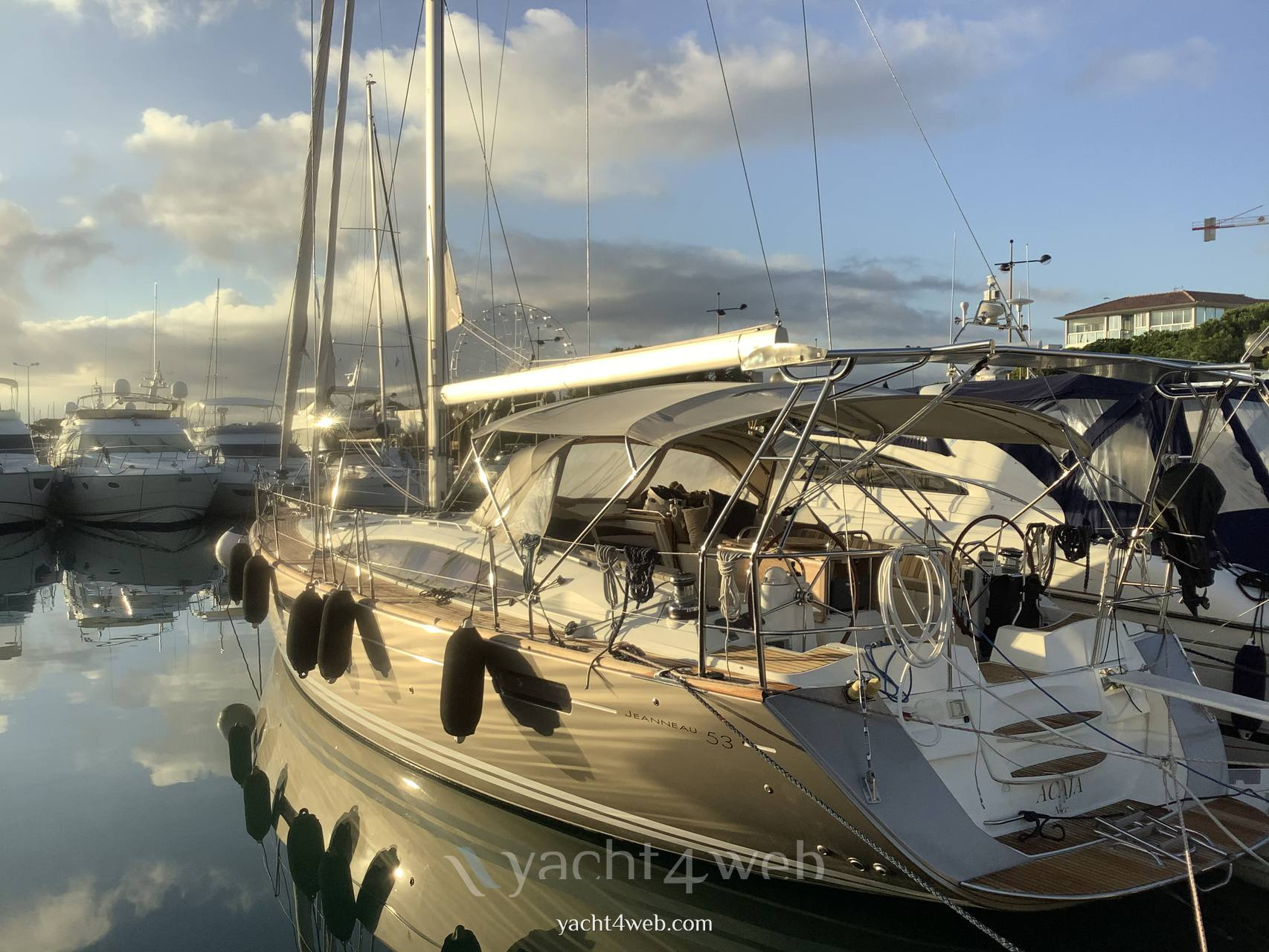JEANNEAU 53 Sailing boat used for sale