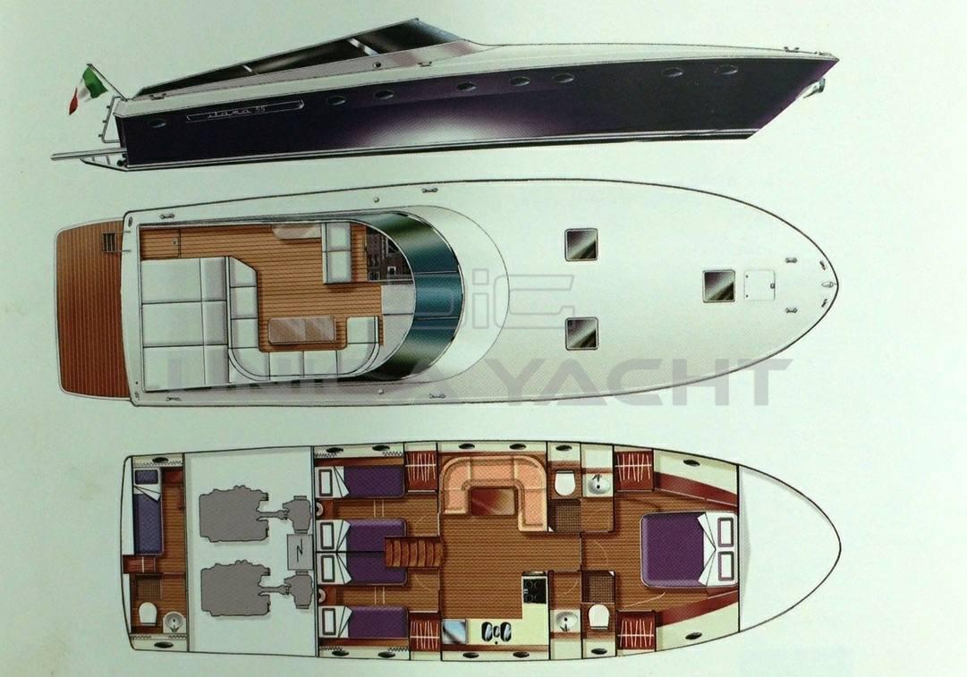 Itama 55 Barca a motore usata in vendita